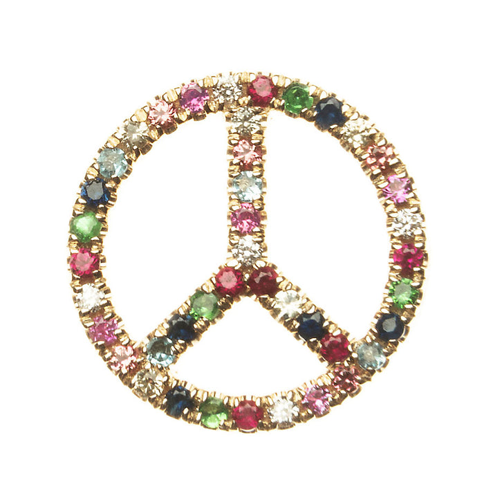 Floating Peace Charm