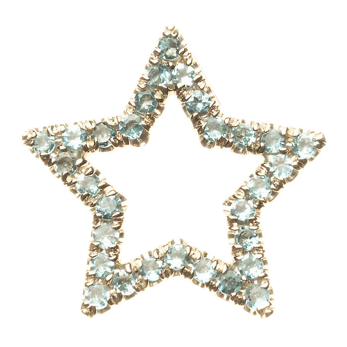 Medium Floating Star Charm