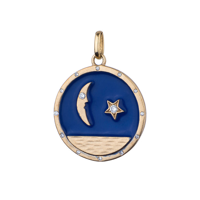 Mini Moonchild Charm