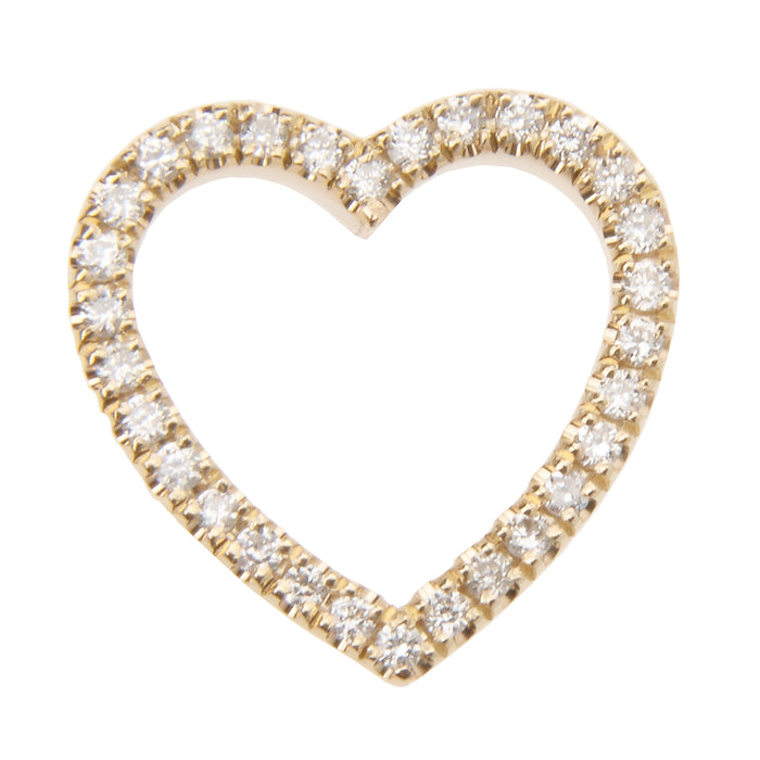 #BEforlove Floating Diamond Eternity Heart Charm