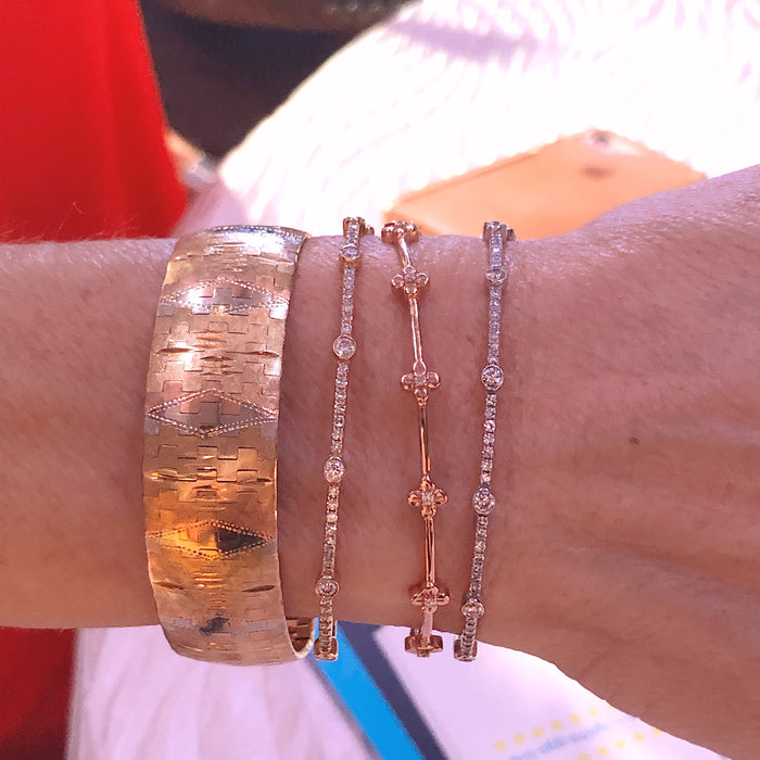 Sticks & Stones Bangle Bracelet