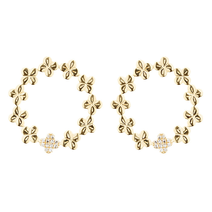 Bloom Eternity Stud Earrings