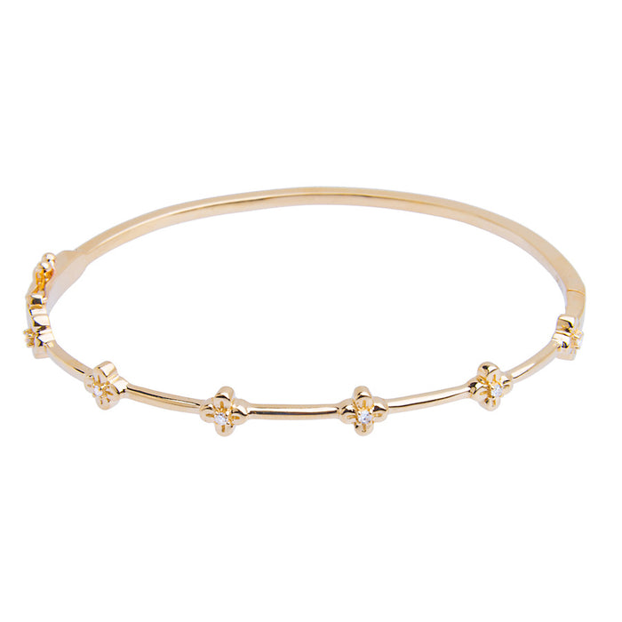 Bloom Bangle Bracelet