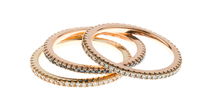 Eternity Stacking Bands