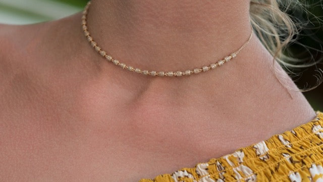 Endless Diamond Fairy Dust Choker