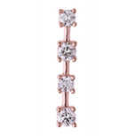 Diamond Sparkling Sugar Stud Earring