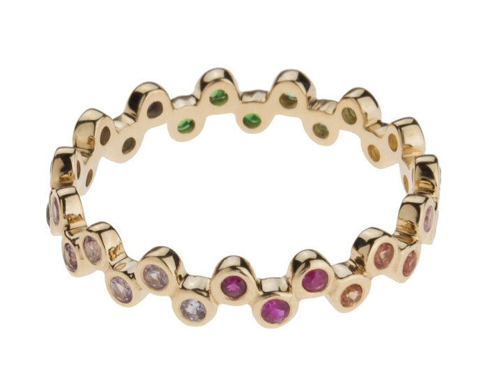 Rainbow Semilla Eternity Bands