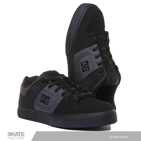 DC SHOES PURE TENIS CABALLERO NEGRO