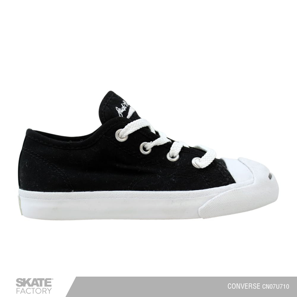 CONVERSE TENIS BEBE JACK PURCELL NEGRO