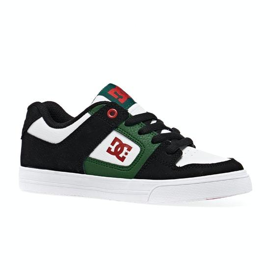 TENIS DC SHOES PURE JUNIOR BLANCO VERDE