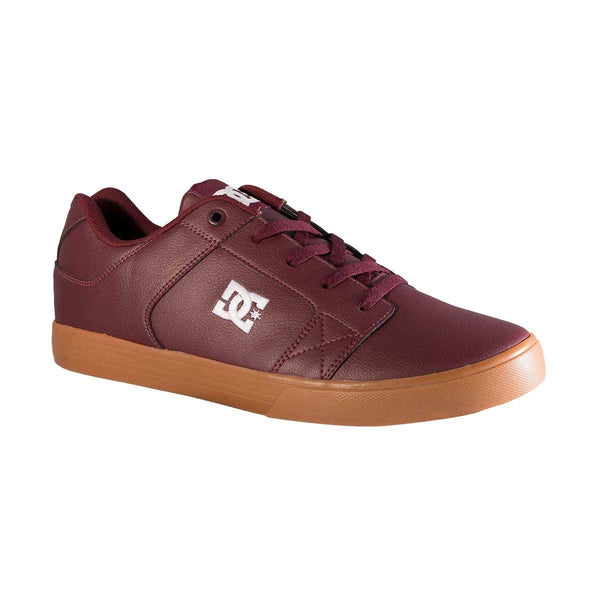 DC SHOES METHOD TENIS CABALLERO VINO PIEL