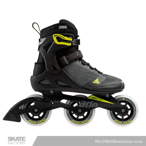 PATINES ROLLERBLADE MACROBLADE 100 3WD FITNESS
