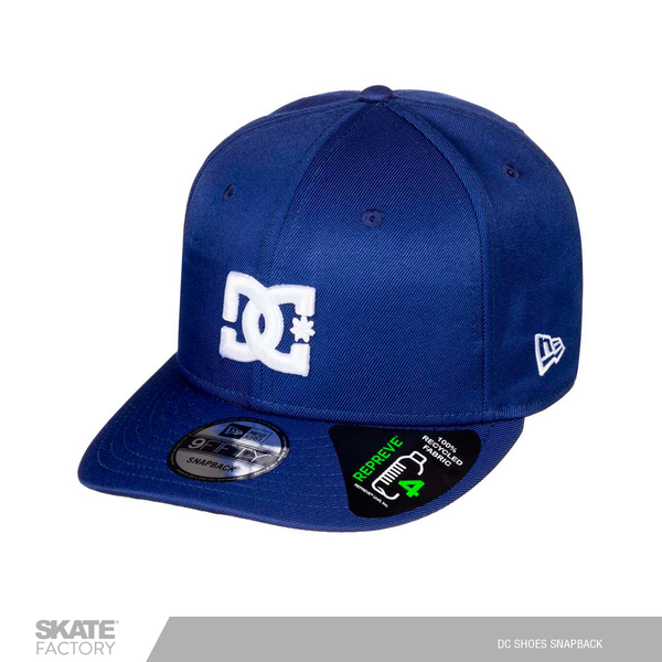 GORRA DC SHOES CABALLERO AZUL