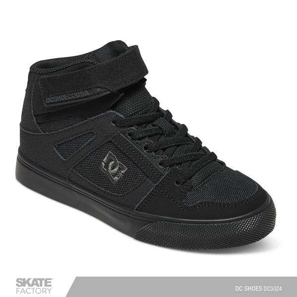 DC SHOES PURE TENIS DAMA NEGRO