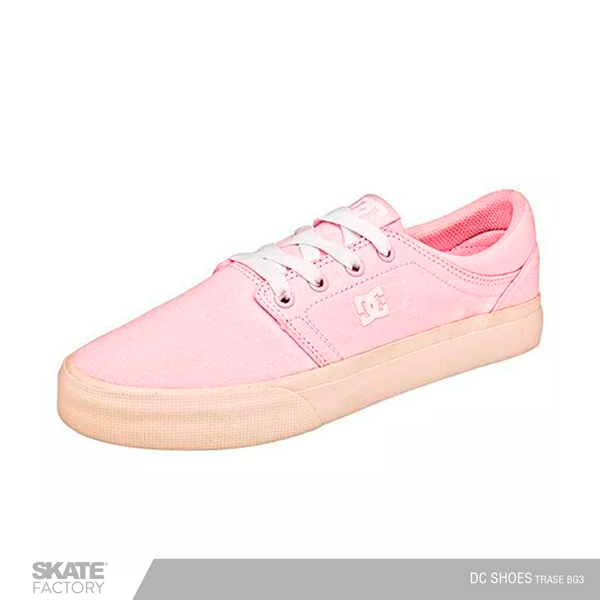 DC SHOES TRASE TENIS DAMA ROSA BLANCO