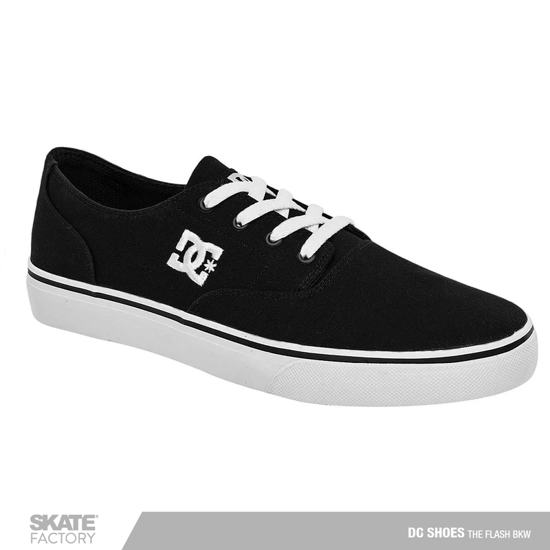 DC SHOES FLASH TENIS CABALLERO NEGRO