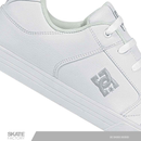DC SHOES METHOD TENIS CABALLERO BLANCO PIEL