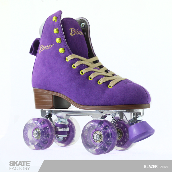 PATINES BLAZER QUADS COLOR MORADO