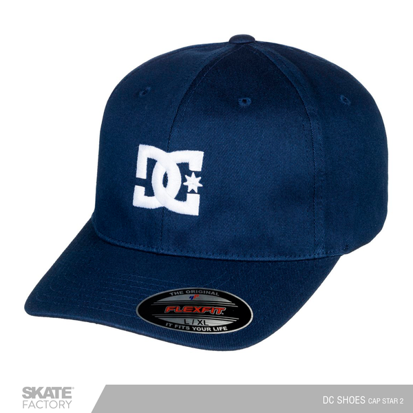 GORRA DC SHOES CAP STAR 2 AZUL