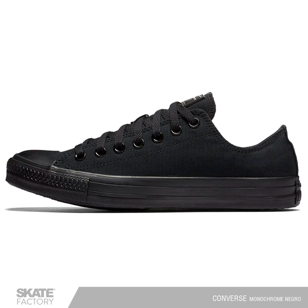 TENIS CONVERSE CHUCK TAYLOR ALL STAR CHOCLO NEGRO MONOCROMO