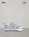 CONVERSE TENIS BEBE ALL STAR PLATA