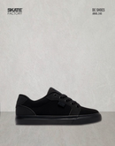 DC SHOES ANVIL TENIS NIÑO NEGRO