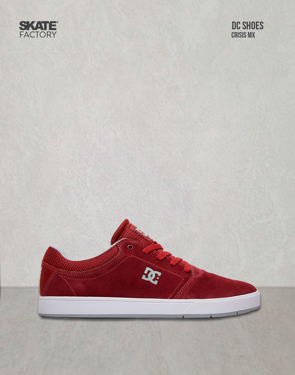 DC SHOES CRISIS MX TENIS CABALLERO VINO BLANCO
