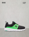 DC SHOES HEATHROW TENIS BEBE NEGRO VERDE