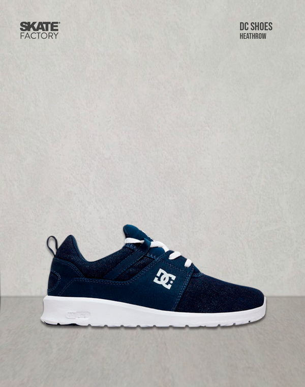DC SHOES HEATHROW TENIS DAMA MARINO