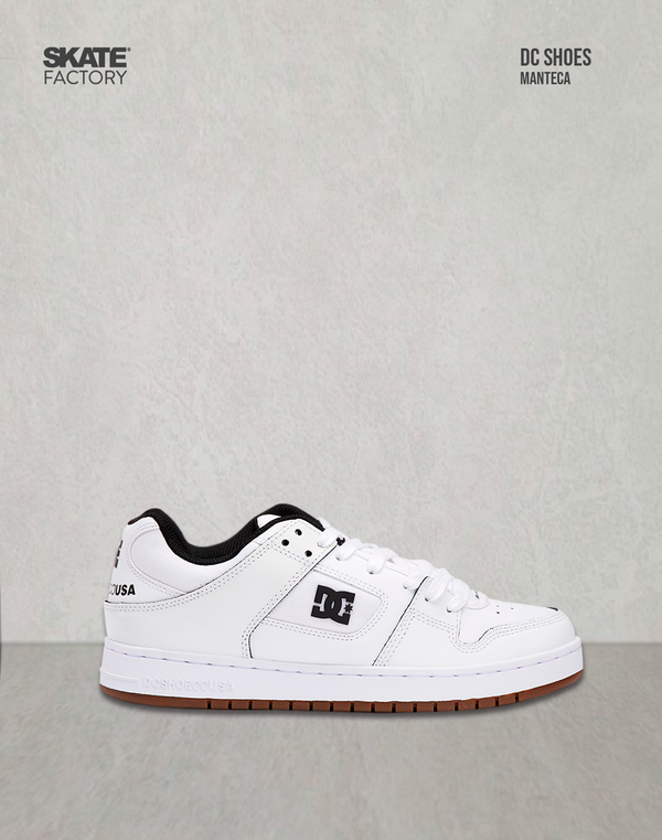 DC SHOES MANTECA SE TENIS CABALLERO BLANCO