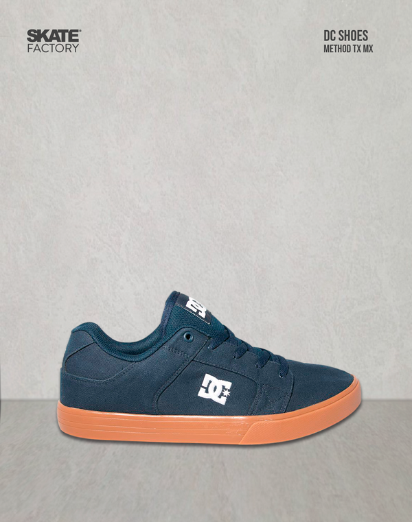 DC SHOES METHOD TX MX TENIS CABALLERO MARINO