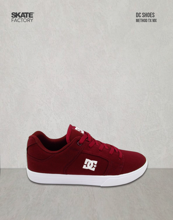 DC SHOES METHOD TX MX TENIS CABALLERO VINO BLANCO