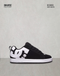 DC SHOES COURT GRAFFIK TENIS CABALLERO NEGRO BLANCO NOBUK