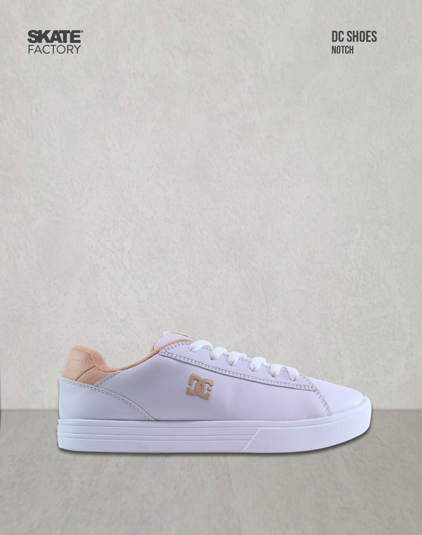 DC SHOES NOTCH TENIS DAMA BLANCO