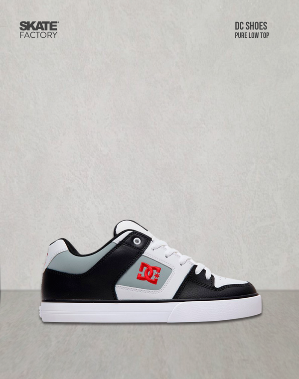 DC SHOES PURE TENIS CABALLERO BLANCO