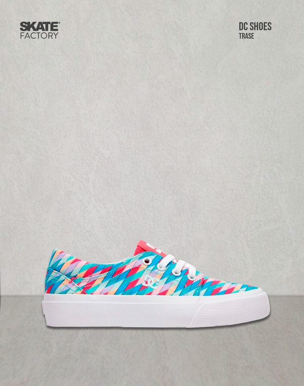DC SHOES TRASE SE TENIS DAMA MULTICOLOR