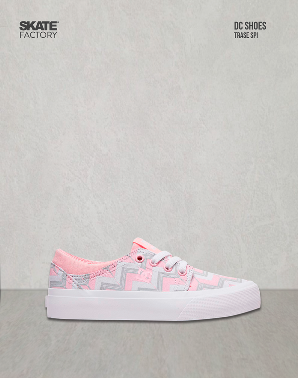 DC SHOES TRASE SP TENIS NIÑA ROSA