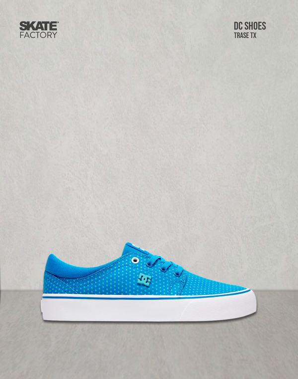 DC SHOES TRASE TX SP TENIS DAMA AZUL