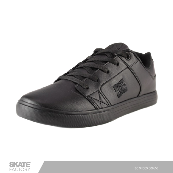 DC SHOES METHOD TENIS CABALLERO NEGRO PIEL