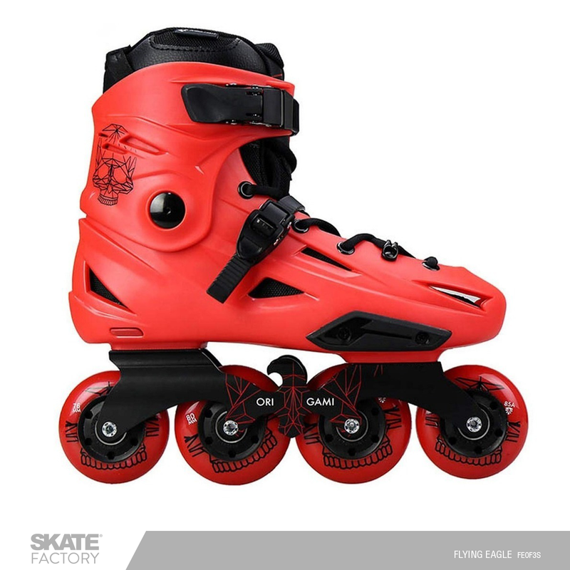 FLYING EAGLE ORIGAMI F3S PATINES EN LINEA CABALLERO ROJO