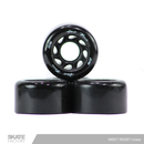 RUEDAS PARA PATINES QUADS SWEET ROCKET NEGRAS 58MM