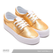 TENIS DC SHOES DAMA TRASE PLATAFORM GOLD ORO