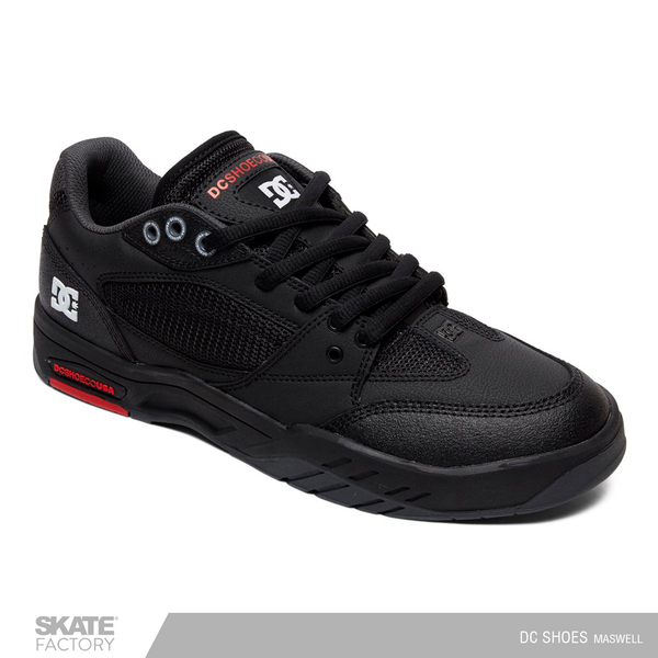 DC SHOES MASWELL TENIS CABALLERO NEGRO