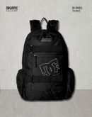 MOCHILA DC SHOES THE BREED NEGRO BCO