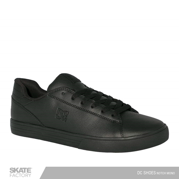DC SHOES NOTCH TENIS CABALLERO NEGRO NEGRO