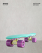 PATINETA MINI CRUISIER SKATIE'S SKATE FACTORY MENTA