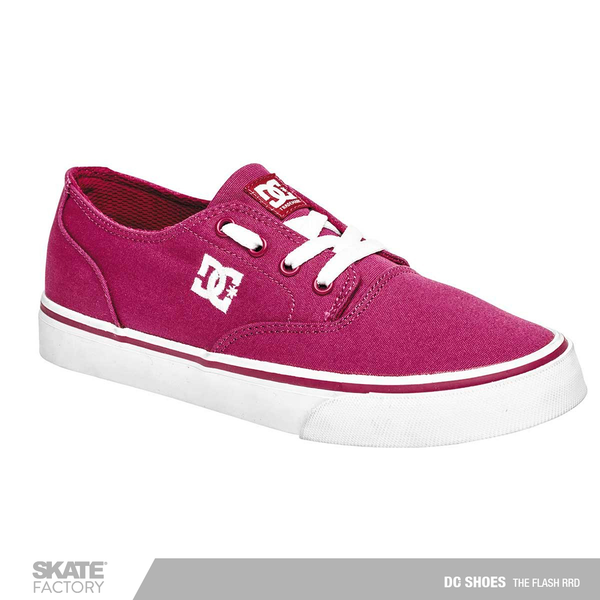 DC SHOES FLASH 2 TENIS DAMA MAGENTA