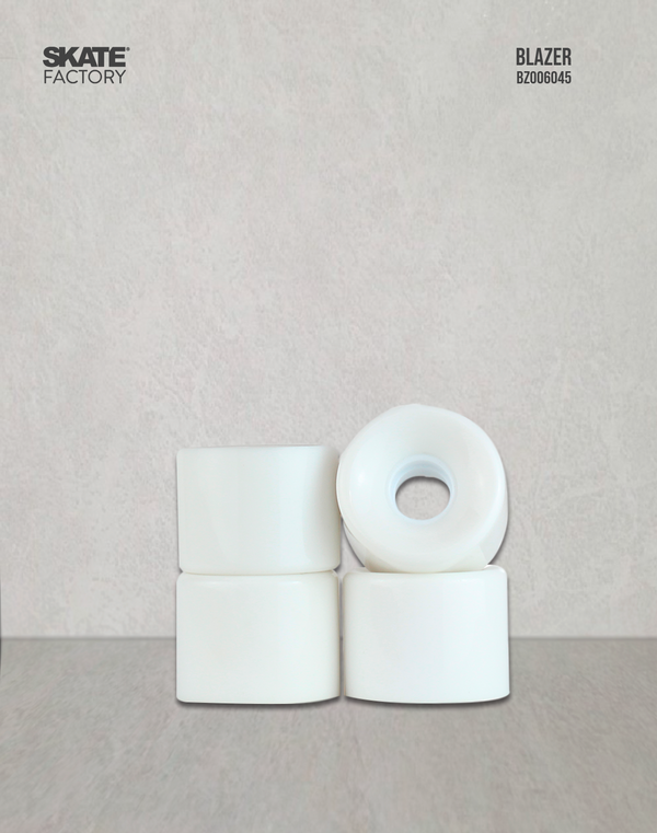 RUEDAS PARA MINI CRUISIER SET DE 4PZ BLANCO 60X46 MM BLAZER