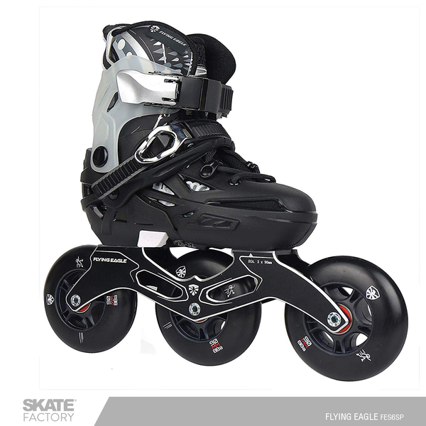 FLYING EAGLE S6S SPEED PATINES EN LINEA NIÑO NEGRO