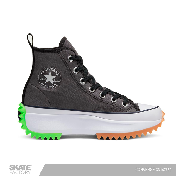CONVERSE BOTA PLATAFORMA RUN STAR HIKE HIGH NEGRO